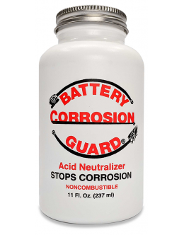 Battery Corrosion Guard® 11oz Bottle with Built-In Applicator Brush