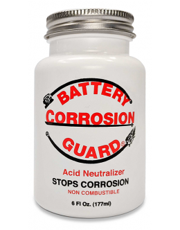 Battery Corrosion Guard® 6oz Bottle with Built-In Applicator Brush