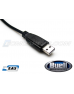 Basic Black - Buell Motorcycle ECM to USB Tuning Cable With EAS™ Technology
