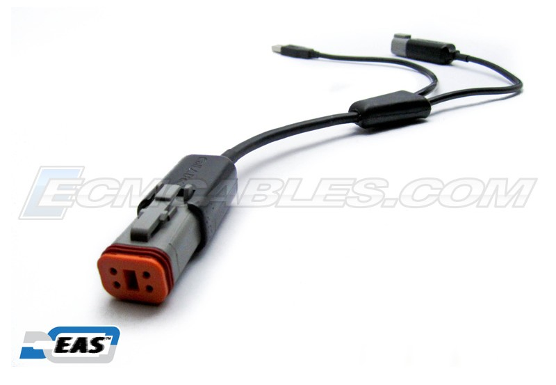 Buell Bluetooth Y CABLE for ECMDroid Dongle Lite USB PWR No
