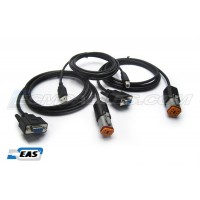 Harley Davidson 4-Pin & 6-Pin Compliant ECM Tuning Cables Kit with EAS™ Technology