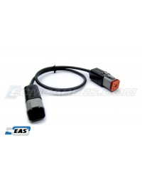 "Harley Davidson CAN BUS ECM Cable 12"" Extension M-F DT06-6S DT04-6P Solid Core with EAS™ Technology"