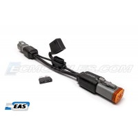 """Harley Buell  J1850 10"""" Fused-Link Shielded Extension M-F DT06-4S DT04-4P Cable  with  EAS™ Technology"""