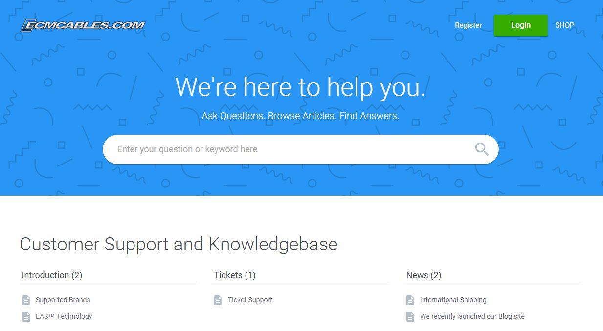 support.ecmcables.com